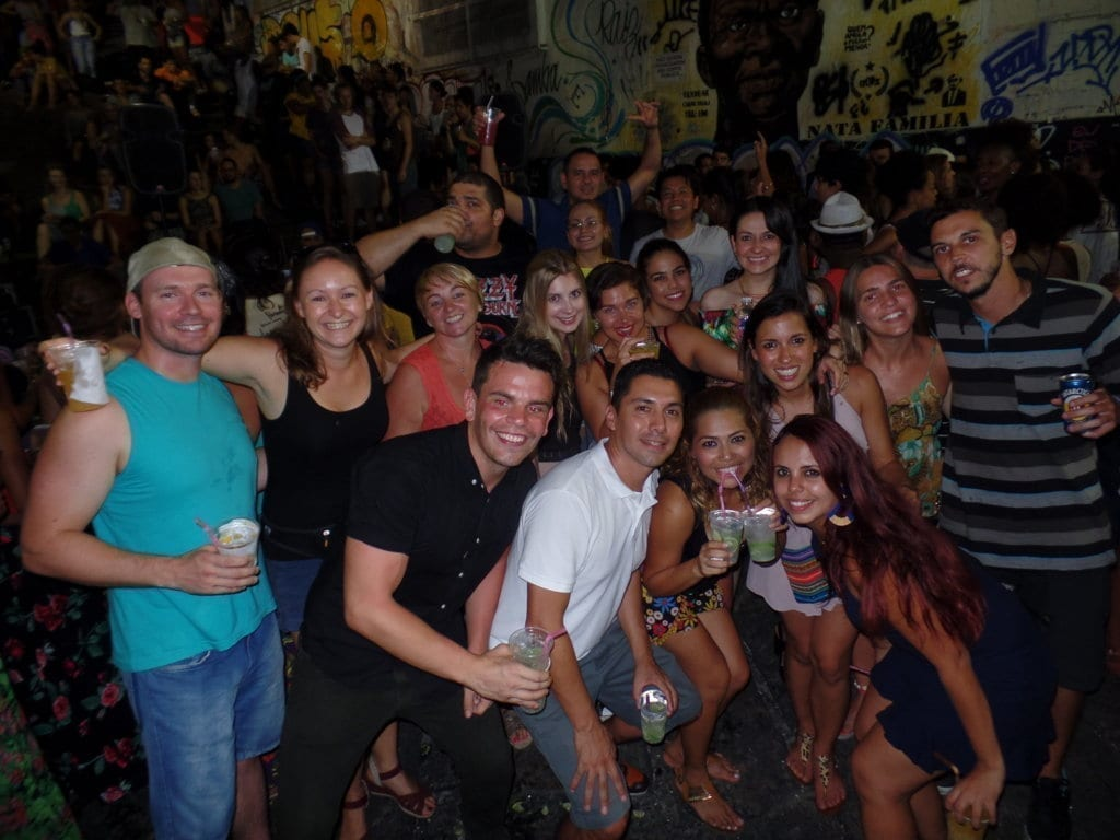 Fun and Samba at Pedra do sal. fun things to do in rio de janeiro.