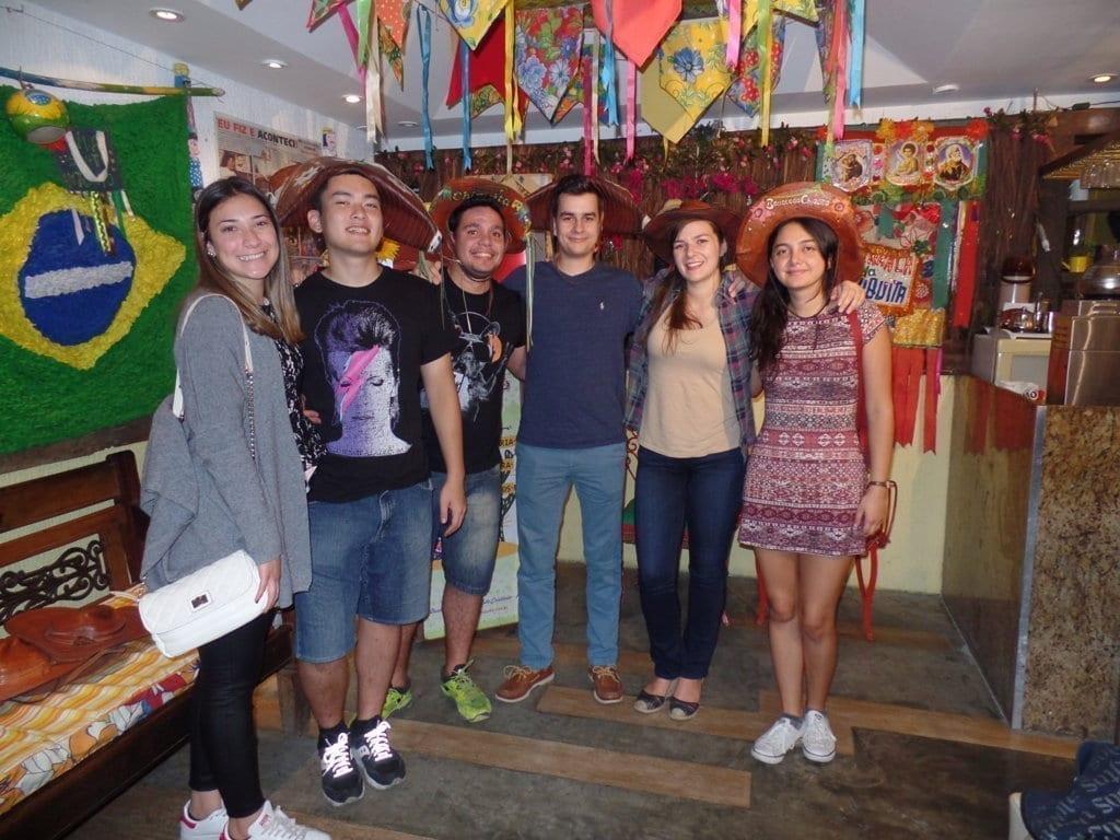 Gringos at Feira de São Cristóvão.