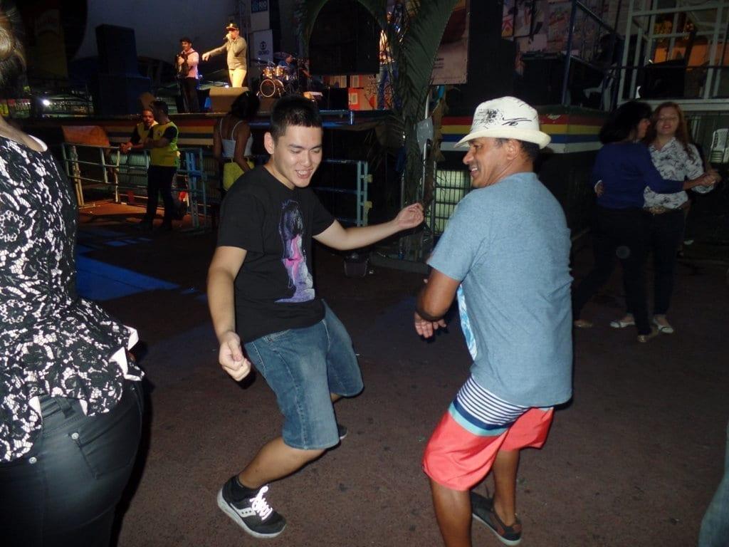 Dancing Forró at Feira de São Cristóvão.