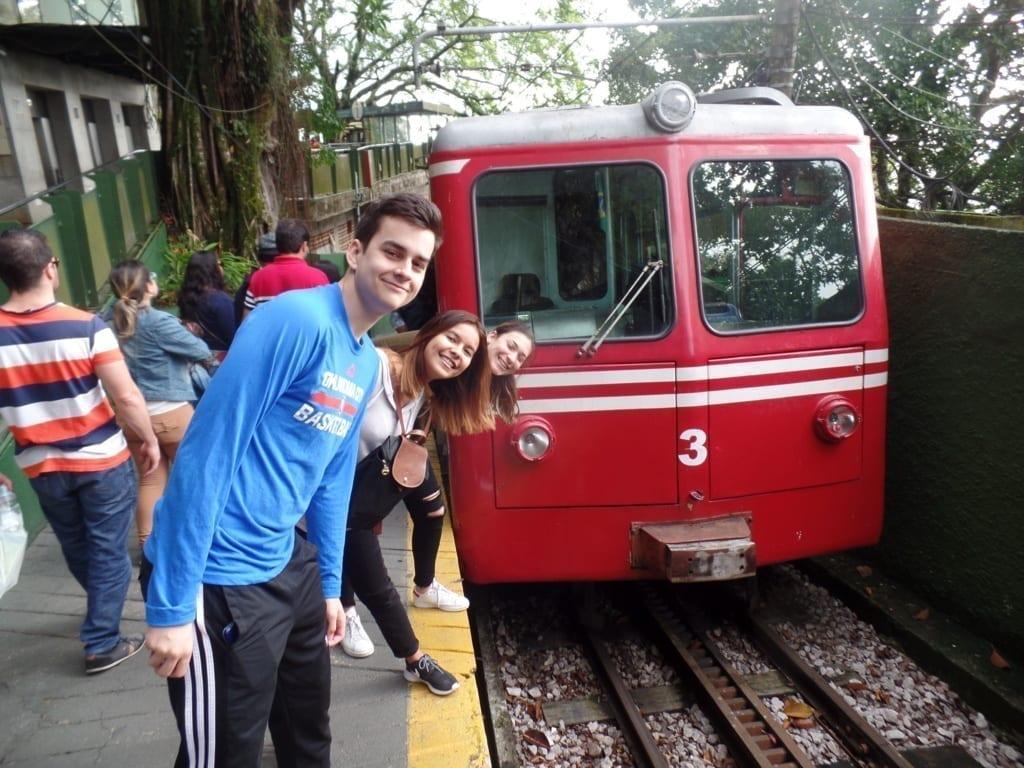 Trem do Corcovado.