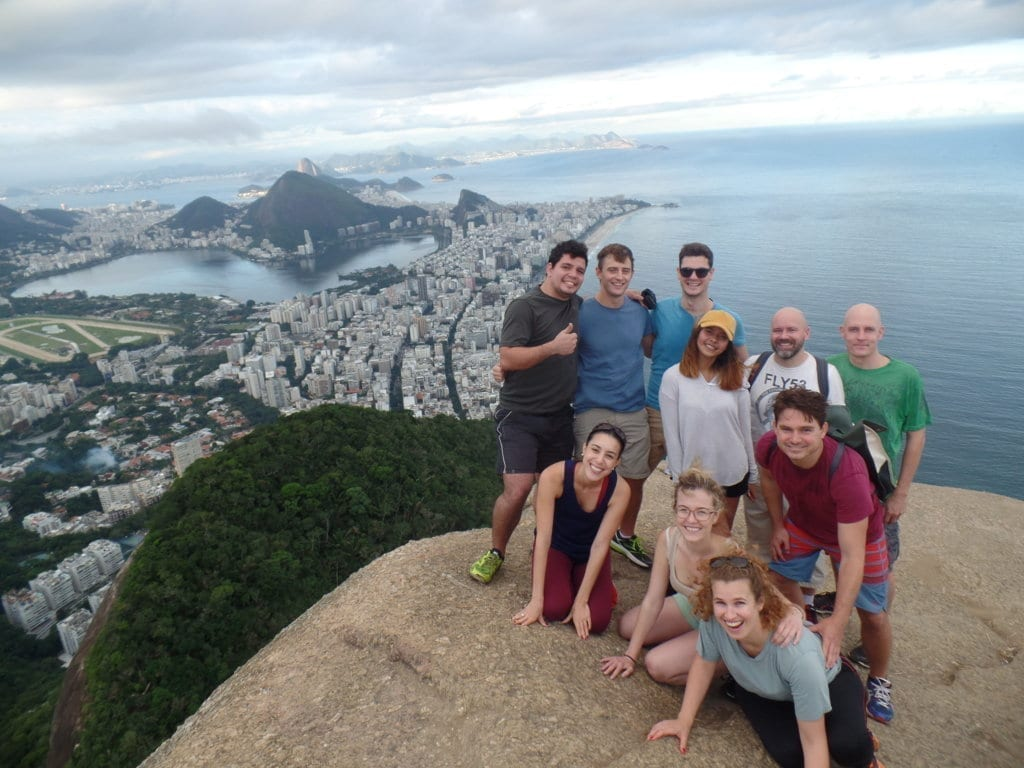 What an adventure at Dois Irmãos!