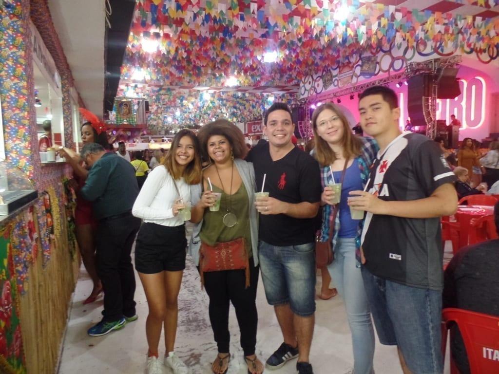 Estudiantes en Salgueiro