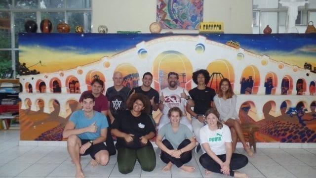 Capoeira with Master Toni.