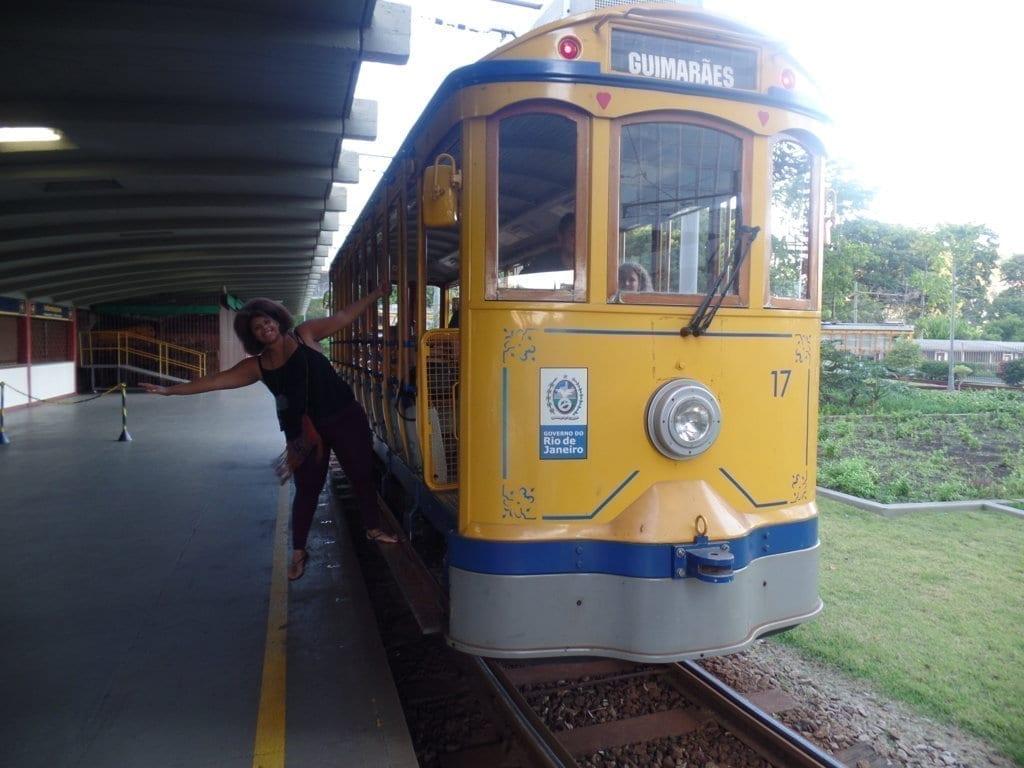 Tranvía de Santa Teresa.