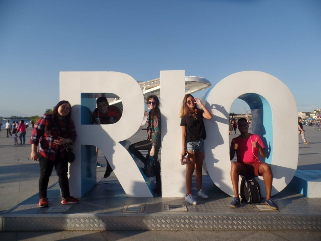 I love Rio.