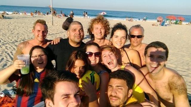 Rio & Learn Football Team.