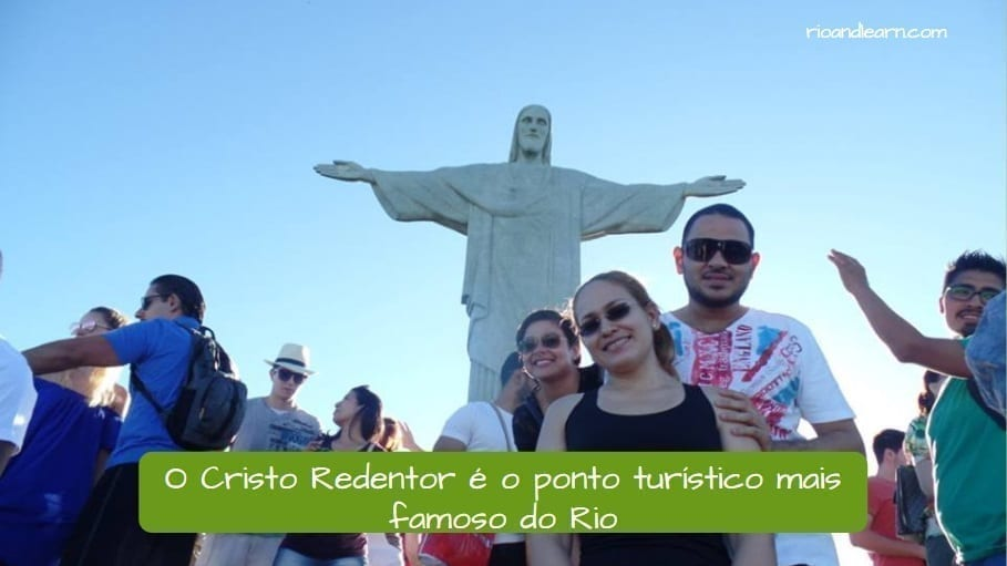 Mejores lugares Turísticos de Río de Janeiro. El Cristo Redentor es la atracción turística más famosa de Río de Janeiro.