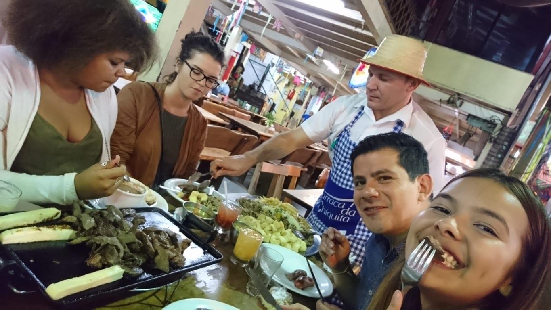 Jantar Nordestino na Feira de São Cristóvão.