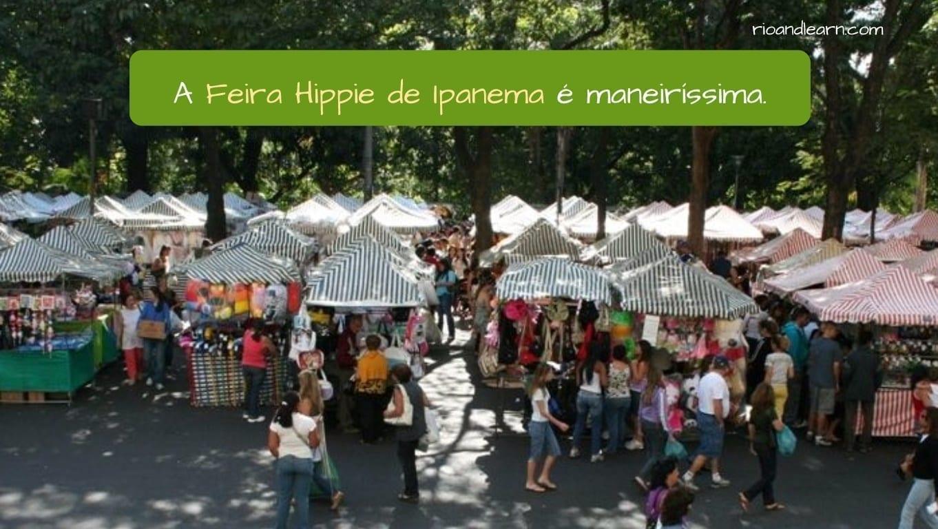 Feira Hippie de Ipanema. A Dica do Dia. Na nossa Dica de hoje, vamos falar sobre a Feira Hippie de Ipanema.