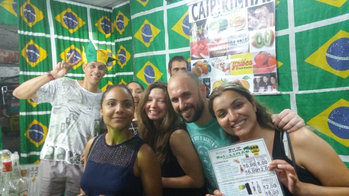 We had a fun Friday Night in Lapa.