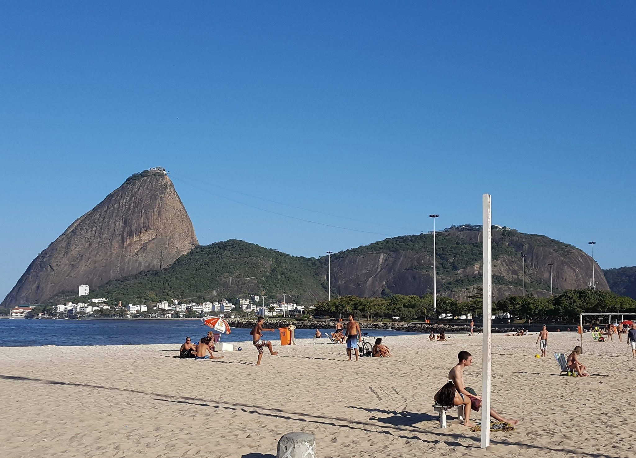 Sitios Turísticos de Río en Janeiro. Pão de Açucar.