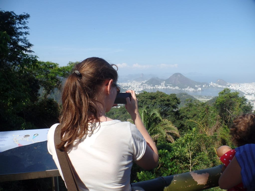 Enjoy a beautiful view of the city from Vista Chinesa on our Tijuca Forest Tour.