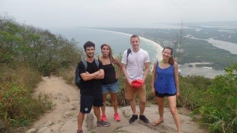 Subimos até aqui para continuar explorando a zona oeste do Rio.