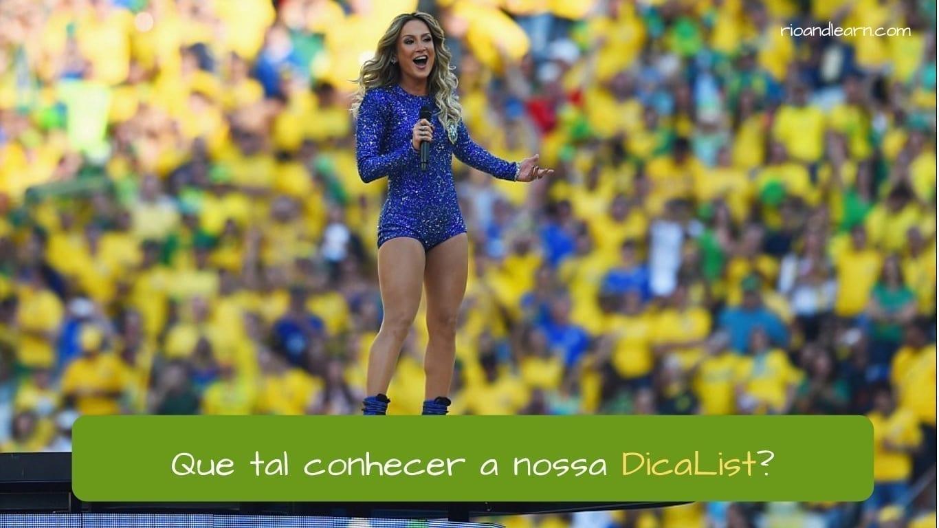 Best Brazilian Songs - A Dica do Dia - Que tal conhecer a nossa DicaList, a playlist da Rio&Learn