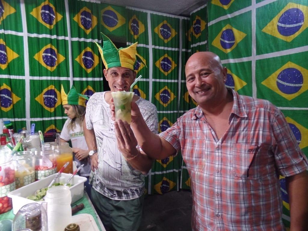 O sabor das caipirinhas brasileiras é incomparável.