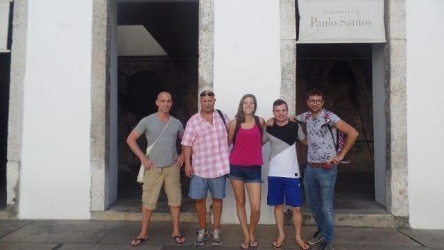 A tour through a historical Rio.