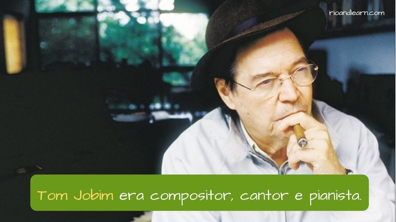 Quem é Tom Jobim? Era cantor, compositor e pianista