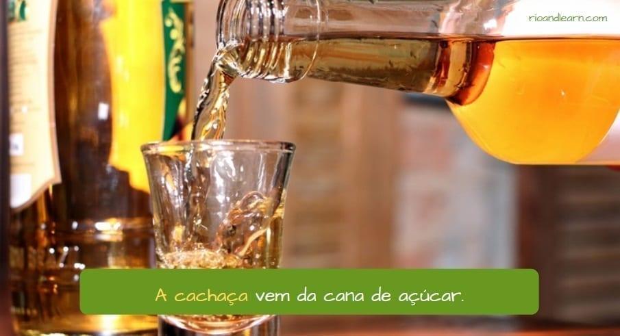 Bebidas brasileñas: cachaça