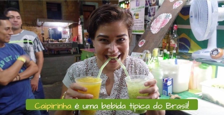 Brazilians Drinks. Caipirinha é uma bebida típica do Brasil!