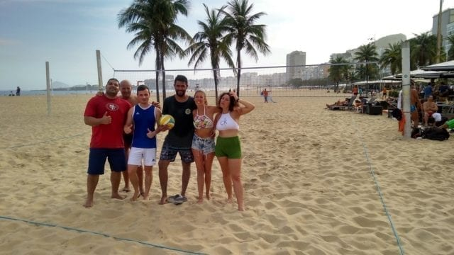 Fun, Portuguese and Beach Volley.