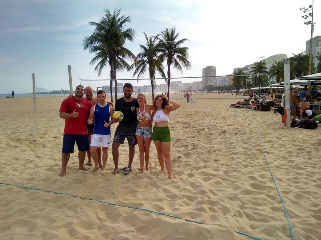 Fun, Portuguese and Beach Volley.
