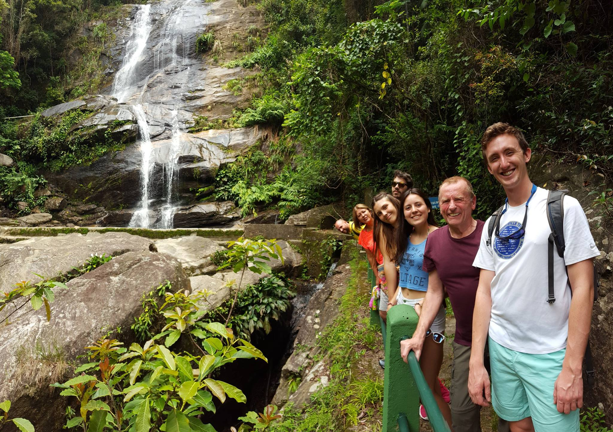 Tijuca Forest Tour on our RioLIVE! Weekend. Discover Rio and Learn Portuguese exploring the Tijuca Forest.