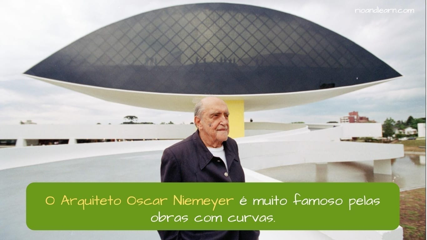 Architect Oscar Niemeyer - A Dica do Dia - Rio & Learn