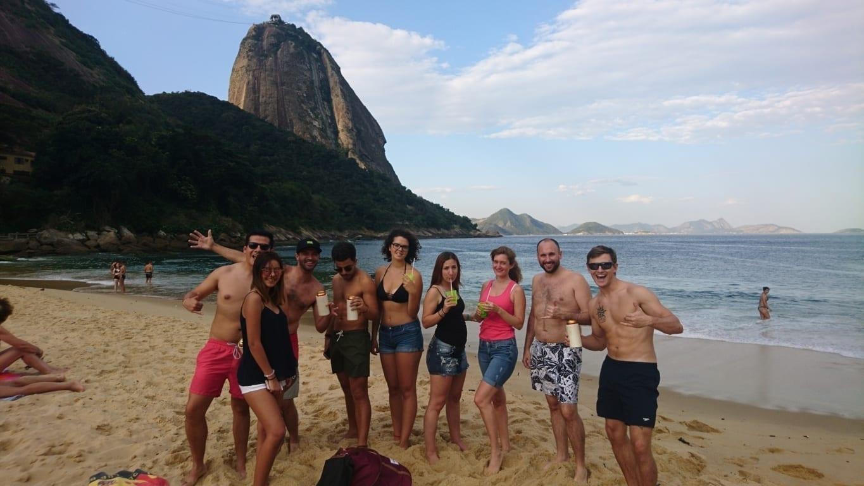 Praia Vermelha es una de las mejores playas en Río de Janeiro.