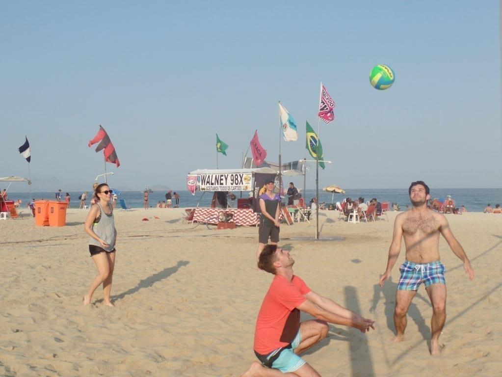 La Playa de Copacabana es la más famosa de Río.