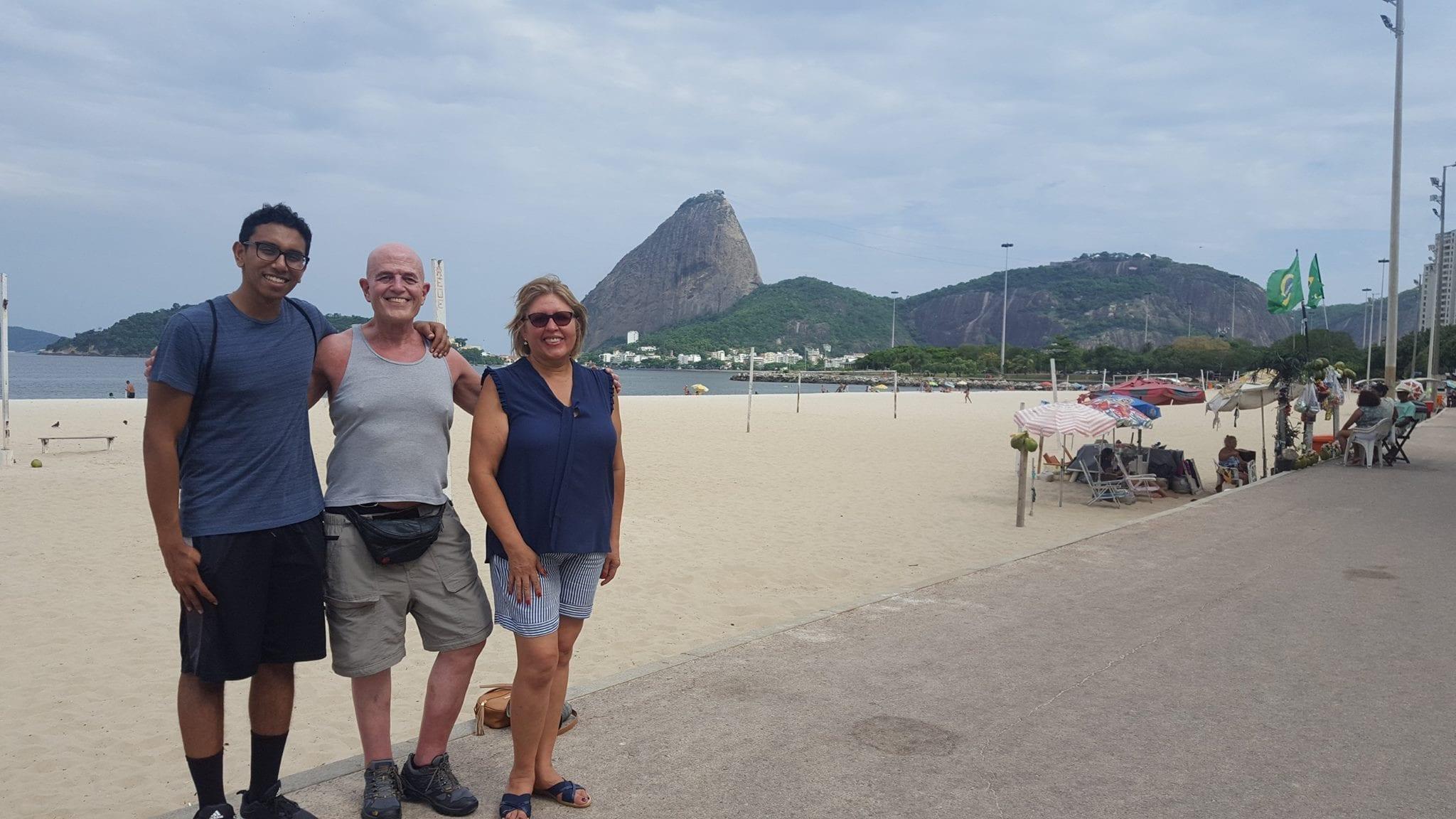 De Flamengo a Botafogo, un paseo para recordar.