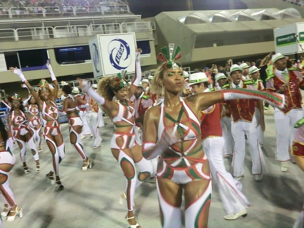 Dance in Rio Carnival