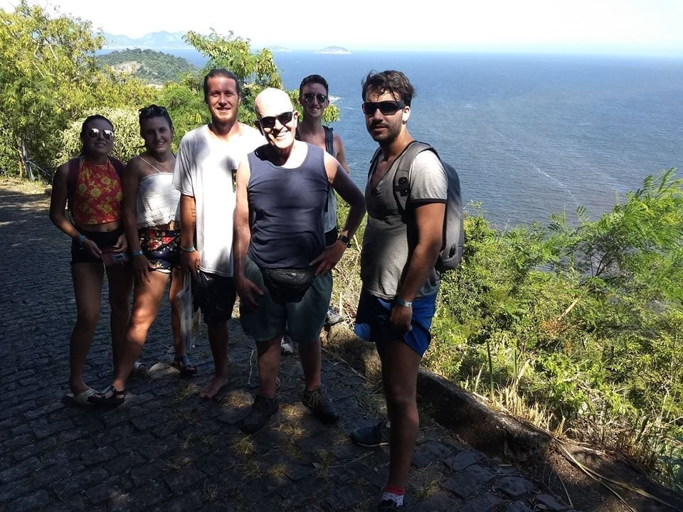 Going to the top of Forte do Leme - RioLIVE! Activities