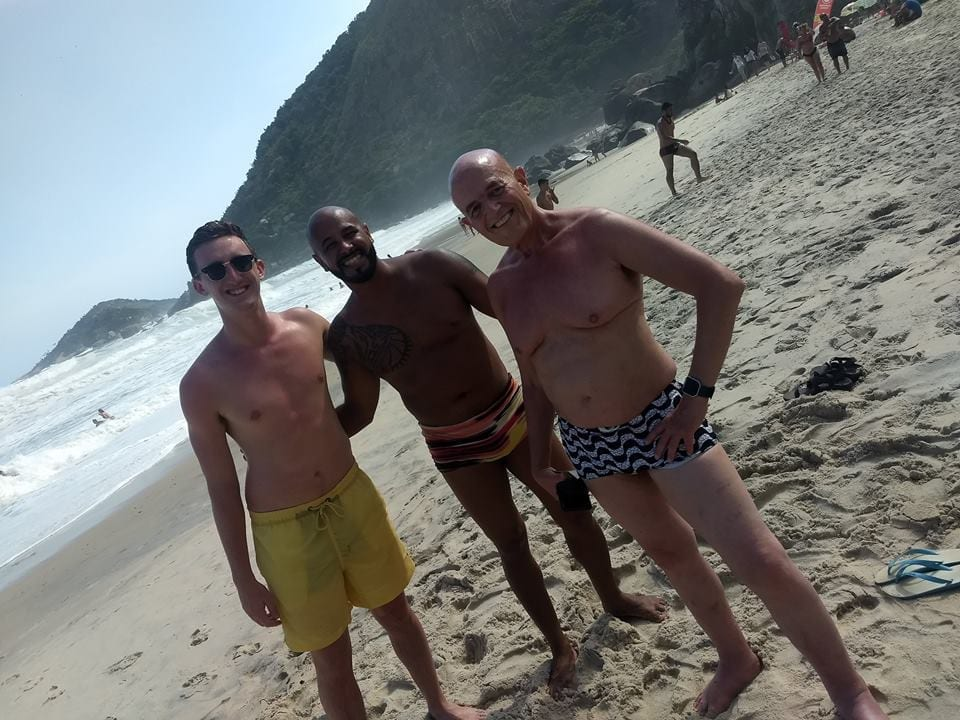 Having fun at Praias da Barra
