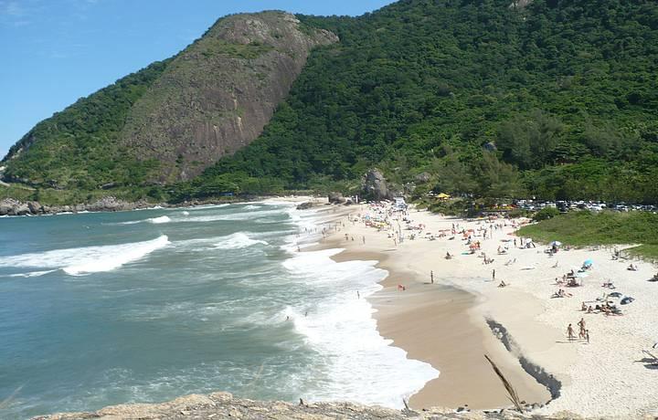 Prainha en portugués playita es una de las playas más lindas en Río de Janeiro.