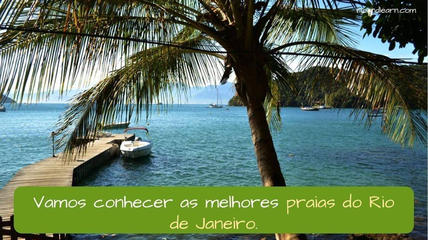 The best beaches in Rio de Janeiro. As melhores praias no Rio