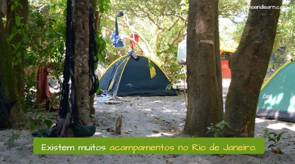 Acampamento no Rio de Janeiro - A Dica do Dia - Rio & Learn