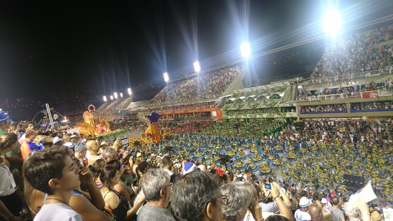 Rio Carnival is the best show in the world