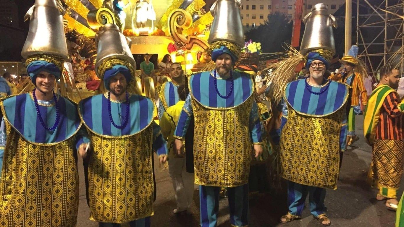Tuiuti antes do Desfile das Campeãs do Carnaval do Rio