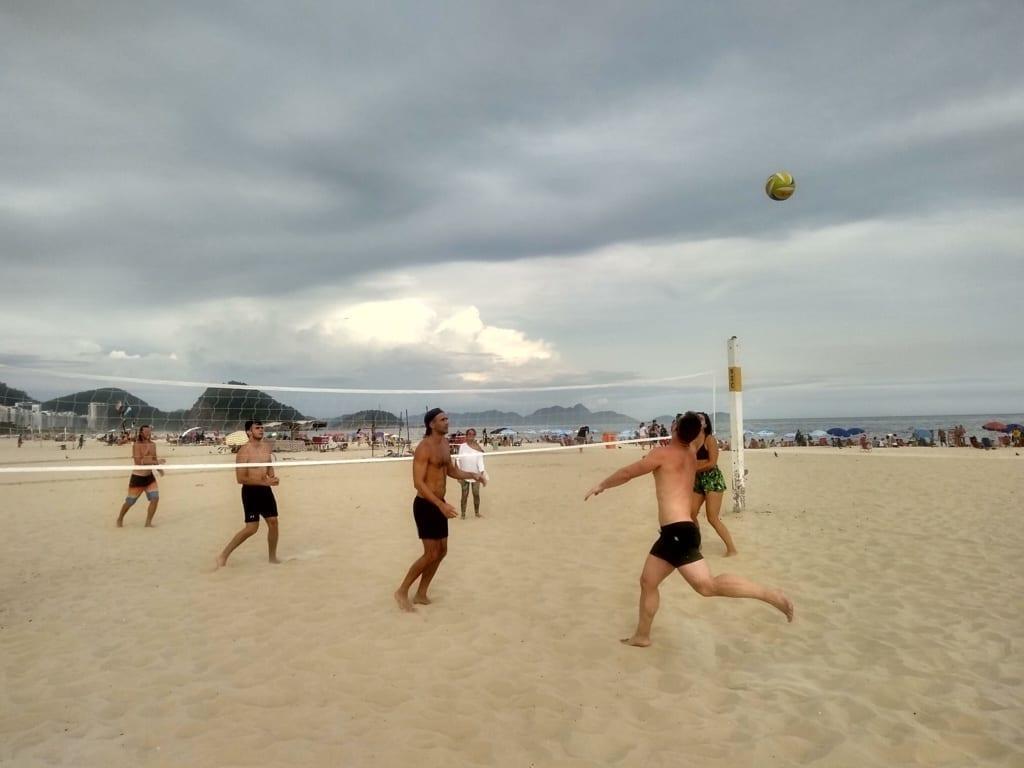 O melhot time de beach volley.