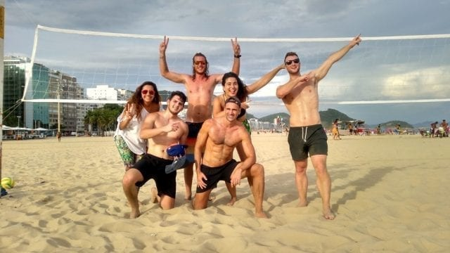 Best Beach Volley Team.