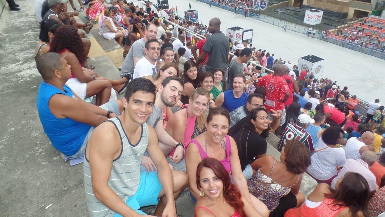 Ensaio de Escola de Samba no Rio