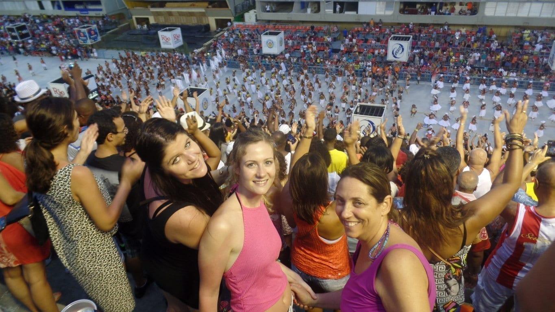 Samba School Rehearsals in Rio de Janeiro.