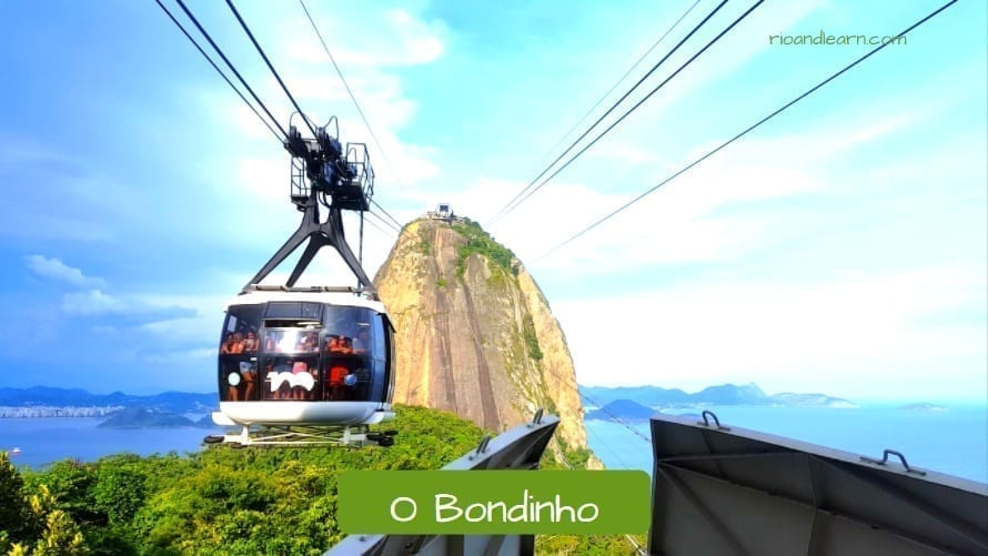 Sugarloaf Cable Car: O Bondinho do Pão de Açúcar.