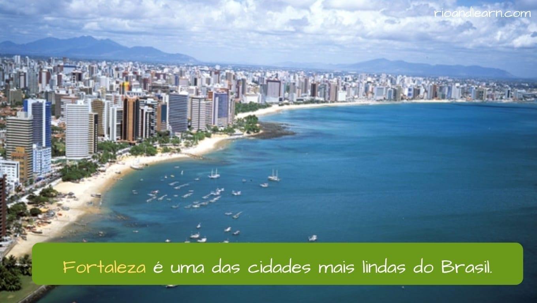 A História de Fortaleza. Fortaleza é uma das cidades mais lindas do Brasil.
