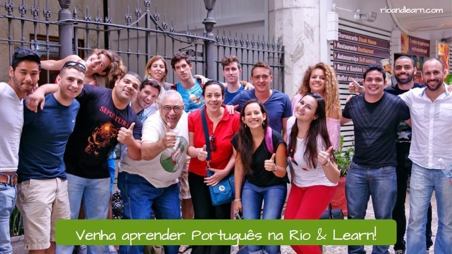 Best School for Learning Portuguese in Brazil. Venha aprender Português na Rio & Learn!