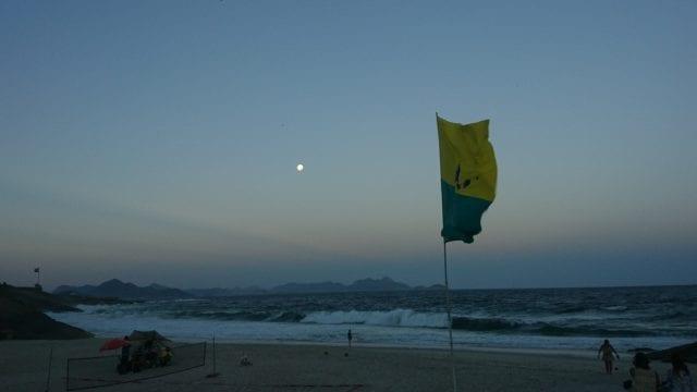 Moonrise at Arpoador