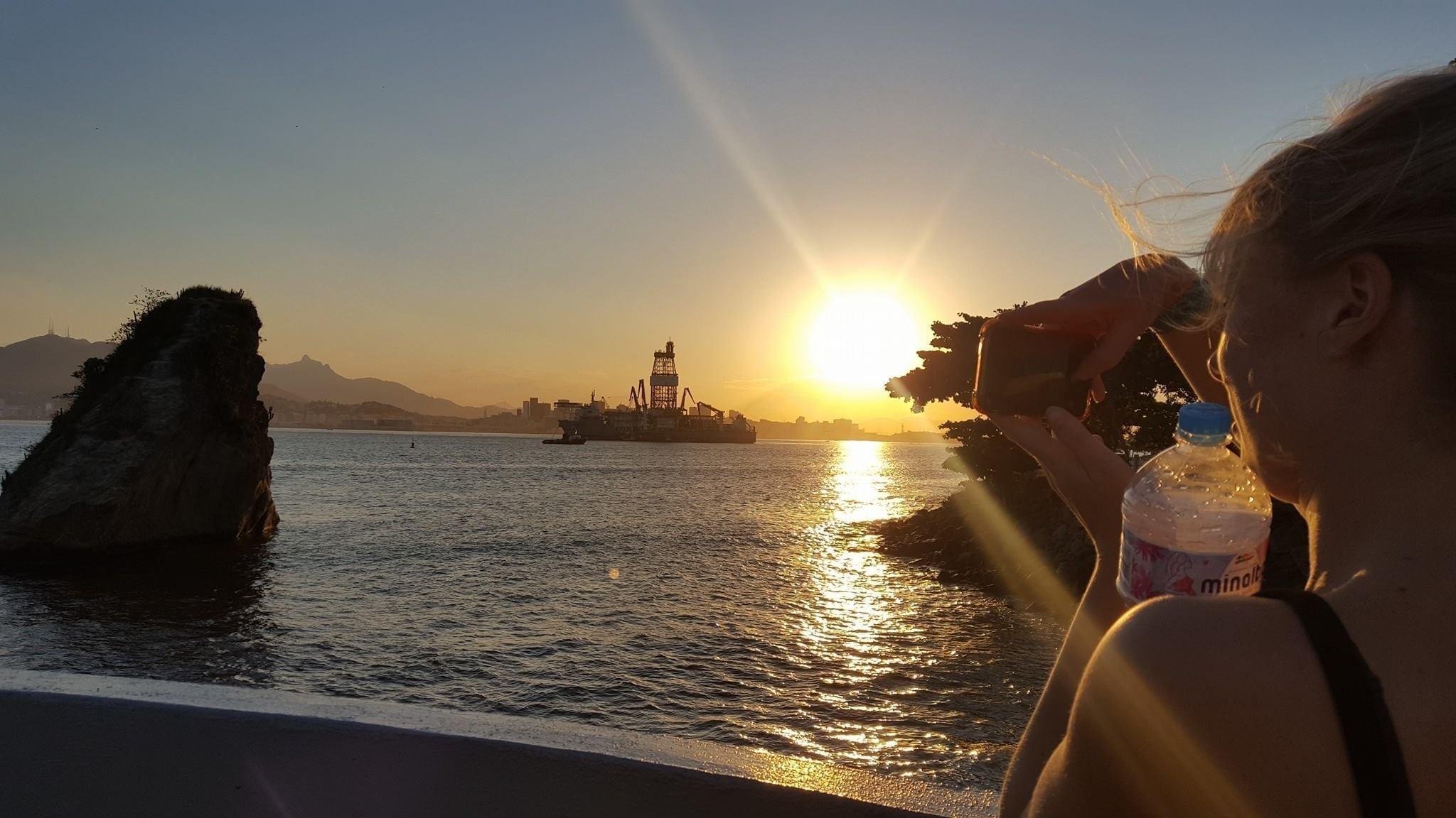 Watching Rio from Niterói