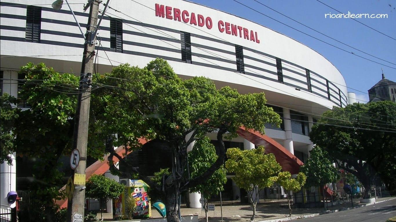 Mercado central de Fortaleza.