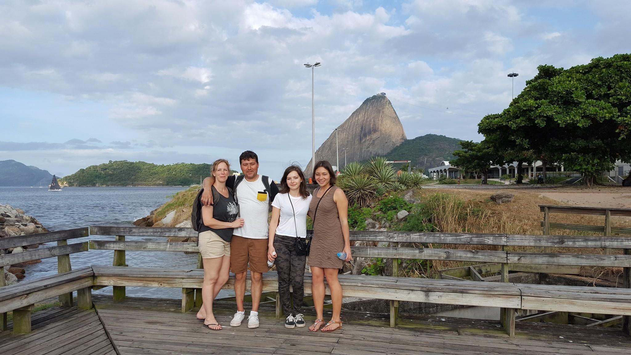 La vista en la costa de Botafogo es increíble.