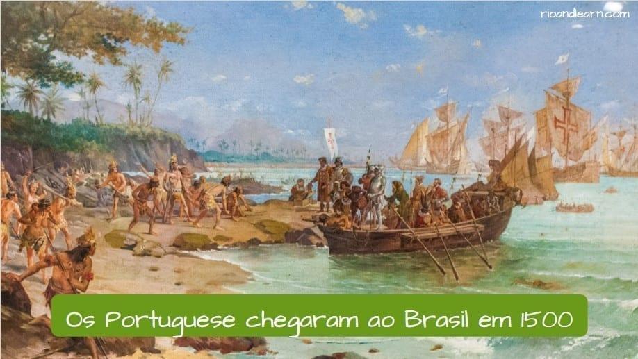 Who discovered Brazil. Os Portuguese chegaram ao Brasil em 1500.